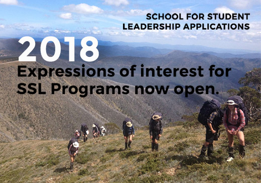 Expressions of Interest for 2018 SSL Programs Now Open