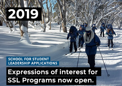 2019 SSL Programs - Application & Expression of Interest Form