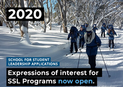 2020 SSL Programs - Application & Expression of Interest Form