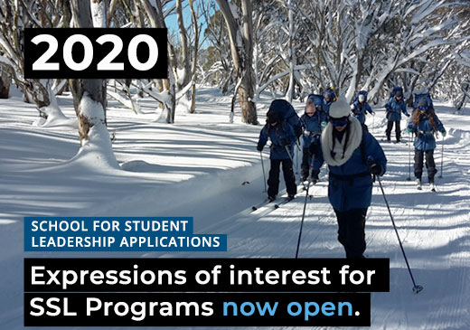 Expressions of Interest for 2020 SSL Programs Now Open for Alpine School, Snowy River and Gnurad-Gundidj Campuses