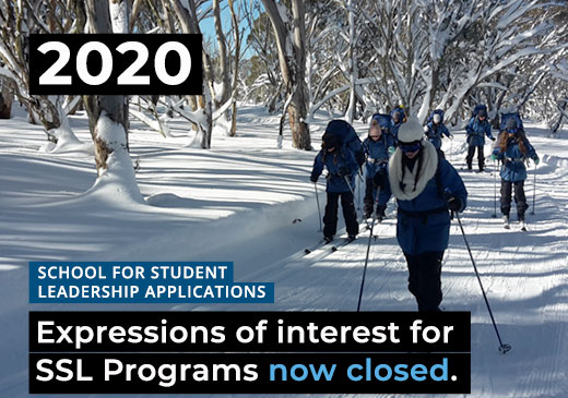 Expressions of Interest for 2020 SSL Programs Now CLOSED for Alpine School, Snowy River and Gnurad-Gundidj Campuses