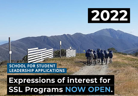 2022 SSL Programs - Application & Expression of Interest Form