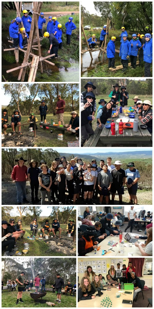 Term 1, 2020 - First Activities- Team building, eating oudoors and getting to know each other