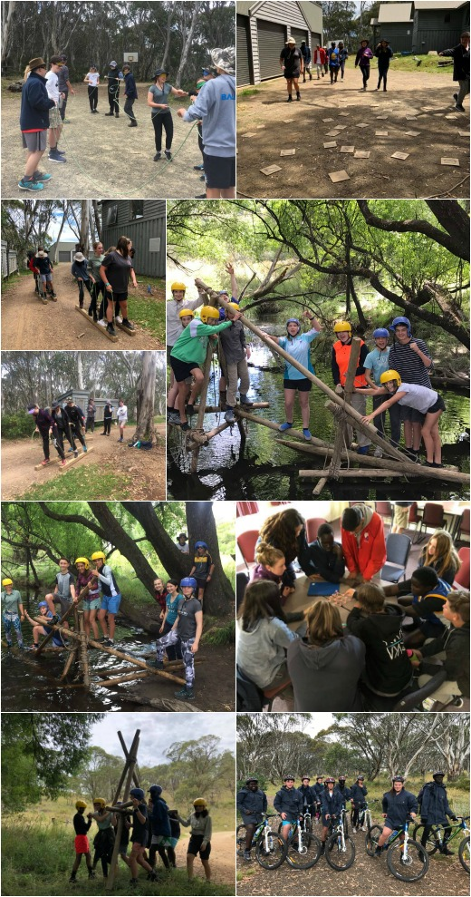 Term 1 2018 - Team Activities and Bridge Building