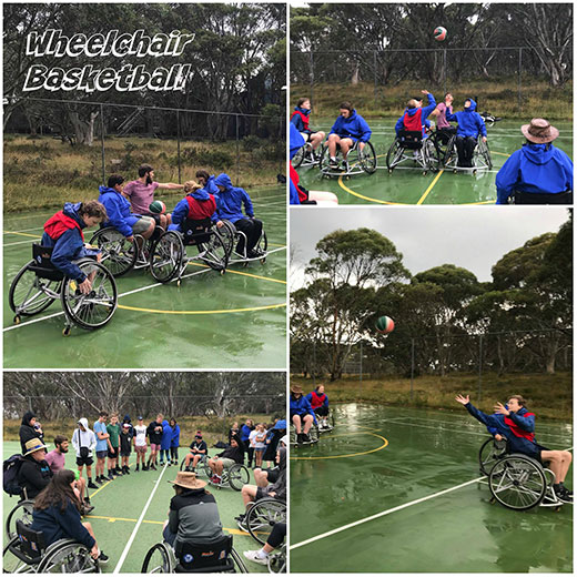 Wheelchair Basketball with Guest speaker Lincoln Budge