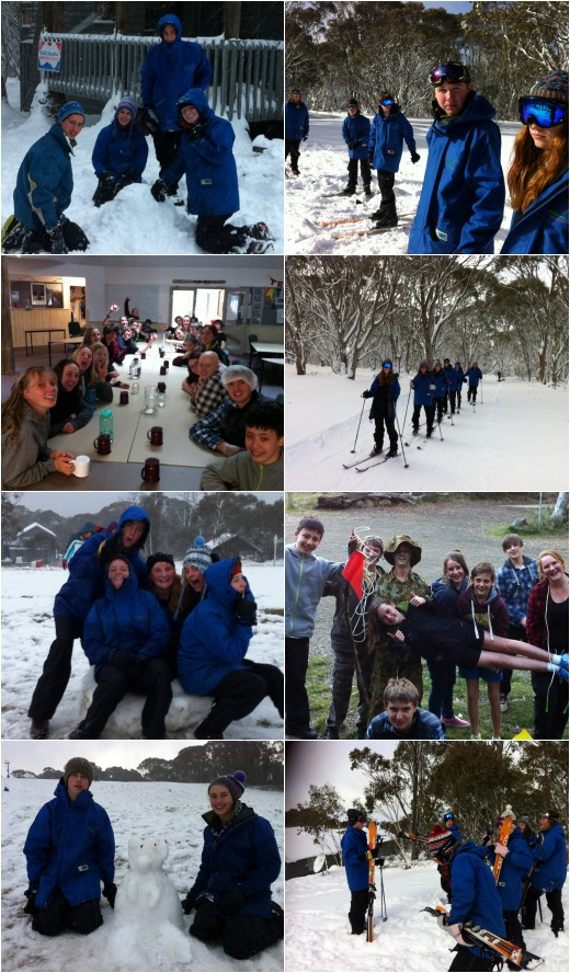 XC Skiing, Long Lunch and Capture the Flag
