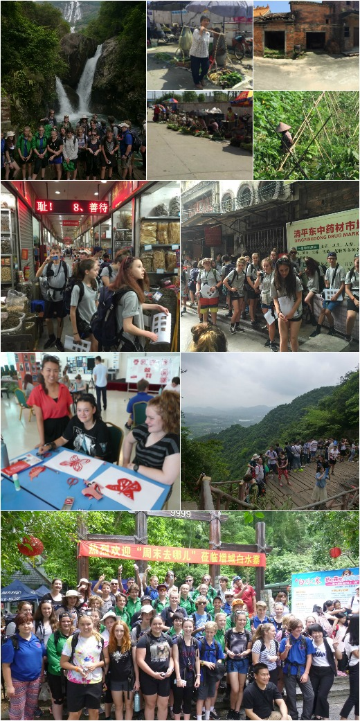 Alpine-China Program - Guangzhou Markets and Baishu village waterfall hike