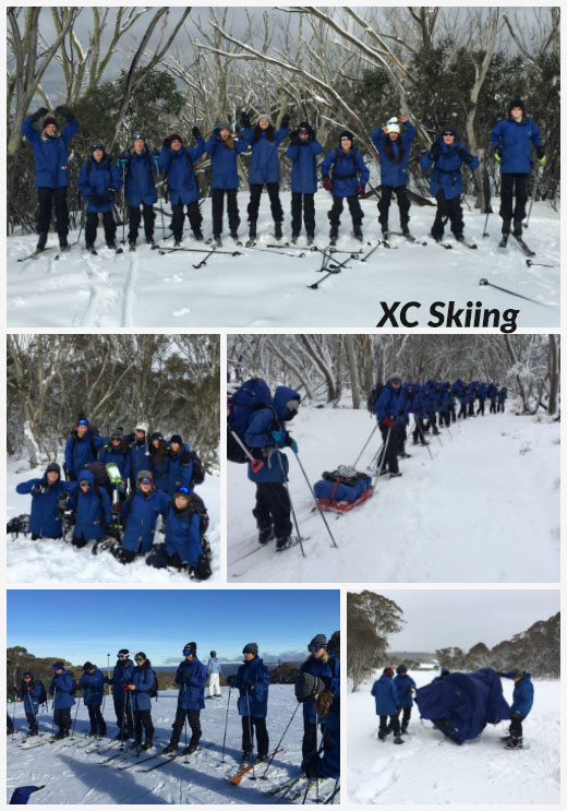 Term 3 Students hit the trails of Dinner Plain for some Cross-Country Skiing