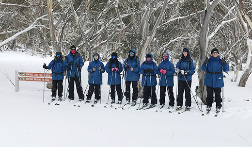 Fresh Snow = Great Skiing for Our term 3 Students