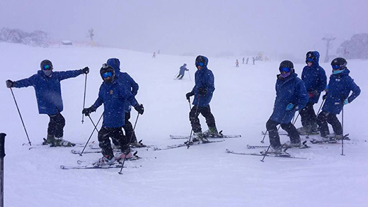 Our Term 3 Students out on a DownHill Day!