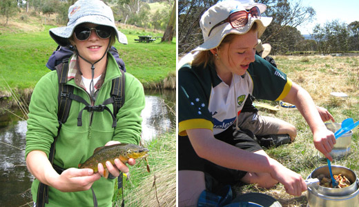 Alpine Activities - Fishing Success and Expo Skills