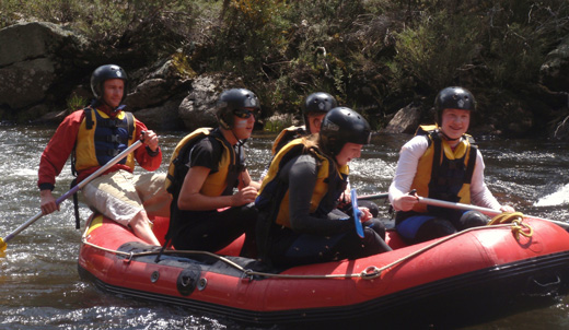 Alpine Activities - White Water Rafting
