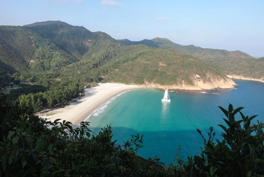 Beautiful beaches of Pak Lap Wan
